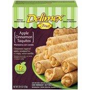 Delimex Apple Cinnamon Fruit Taquitos