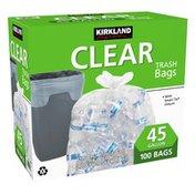 Kirkland Signature Clear Trash Bag