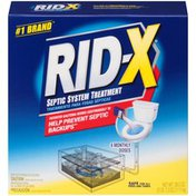 Rid-X 4 Monthly Doses Septic System Treatment
