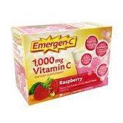 Emergen-C Fizzy Drink Mix,Vitamin C, Raspberry