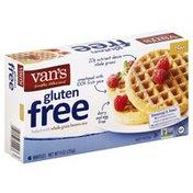 Van's Natural Foods Waffles, Gluten Free, Flax