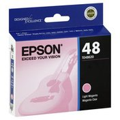 Epson Ink Cartridge, Light Magenta, 48