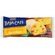 Baja Cafe Egg & Cheese Burrito