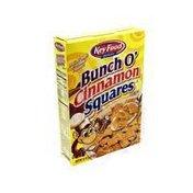Key Food Bunch O' Cinnamon Squares Cereal