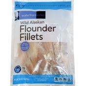 Waterfront Bistro Flounder Fillets, Wild Alaskan