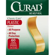 CURAD Bandages, Adhesive, Plastic