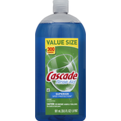 Cascade Rinse Aid, Value Size