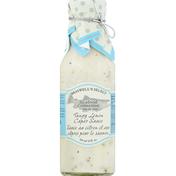 Braswell's Caper Sauce, Tangy Lemon