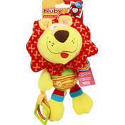 Nuby Interactive Toy, Tag-A-Long Plush Pal, 3+ Months