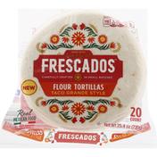 Frescados Flour Tortillas, Taco Grande Style