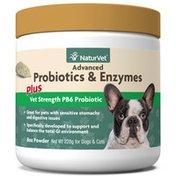 NaturVet Advanced Probiotics & Enzymes Plus PB6 Probiotic Powder
