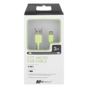 MobilEssentials Micro USB Cable 3ft