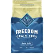 Blue Buffalo Freedom Grain Free Natural Senior Dry Dog Food, Chicken