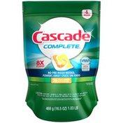 Cascade Complete Citrus Breeze ActionPacs Dishwasher Detergent