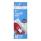 Southeastern Grocers Resealable Freezer Bags Quart - 40 CT