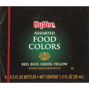 Hy-Vee Food Colors, Assorted