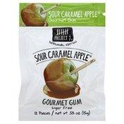 Project 7 Gum, Gourmet, Sugar Free, Sour Caramel Apple