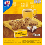 Gamesa Cookies, Coconut, 4 Pack