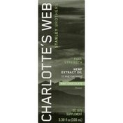 Charlotte's Web Hemp Extract Oil Mint Chocolate Full Strength, Box