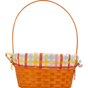 Publix Bamboo Basket with Liner, Large