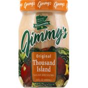 Jimmys Salad Dressing, Thousand Island, Original