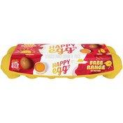 Happy Egg Co Free Range Large Brown Grade A Eggs