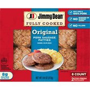 Jimmy Dean Fully Cooked Original Pork Sausage Patties