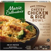Marie Callender's Aged Cheddar Cheesy Chicken And Rice Bowl