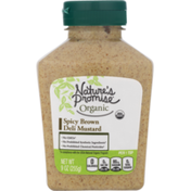Nature's Promise Organic Spicy Brown Deli Mustard