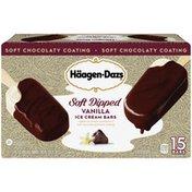 Haagen-Dazs SOFT DIPPED Vanilla Ice Cream Bars