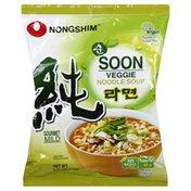 Nongshim Noodle Soup, Veggie, Soon