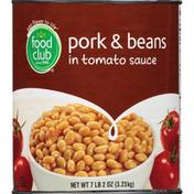 Food Club Pork & Beans, In Tomato Sauce