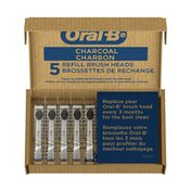 Oral-B Charcoal Electric Toothbrush Replacement Brush Heads Refill