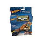 Mattel Hot Wheels Jump & Crash Track