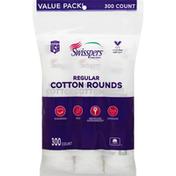 Swisspers Cotton Rounds, Regular, Value Pack