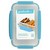 GoodCook Container, Twin Snack