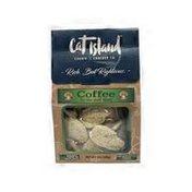 Cat Island Coffee on the Half Shell Cookies