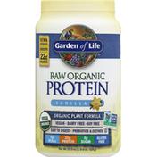 Garden of Life Protein, Organic Plant Formula, Vanilla