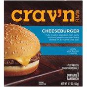 Crav'n Flavor Cheeseburger