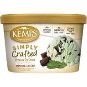 Kemps Simply Crafted Mint Chocolate Chip Premium Ice Cream