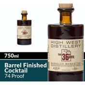 High West Distillery The 36th Vote Barreled Manhattan Whiskey