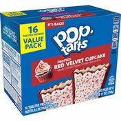 Kellogg's Pop-Tarts Toaster Pastries, Breakfast Foods, Red Velvet Cupcake