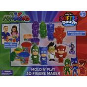 Cra-Z-Art Figure Maker, 3D, Mold 'n Play, PJ Masks