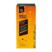 Johnnie Walker Moments to Share Voice Recorder Gift Set, Black Label Blended Scotch Whisky With Four bottles