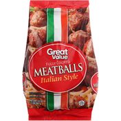 Great Value Meatballs, Fully Cooked, Italian Style