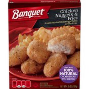 Banquet Basic Chicken Nuggets And Fries