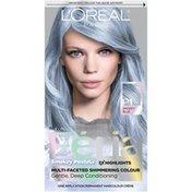 L'Oreal Pastels Hair Color P1 Sapphire Smoke (Smokey Blue)