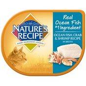 Nature's Recipe Ocean Fish Crab & Shrimp Recipe in Broth Cat Food