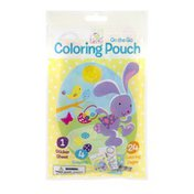 Primary Colors On The Go Coloring Pouch Spring Into Easter