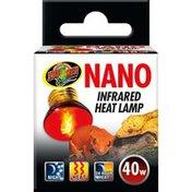 Zoo Med 40 Watt Reptile Nano Infrared Heat Lamp